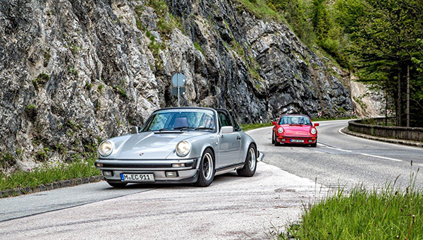 PORSCHE HIGHLIGHTS ROUTE
